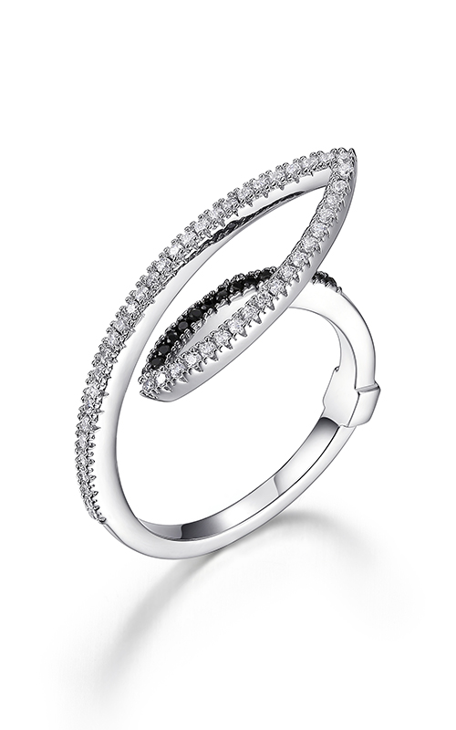 Elle Tuxedo Fashion ring R03898 product image