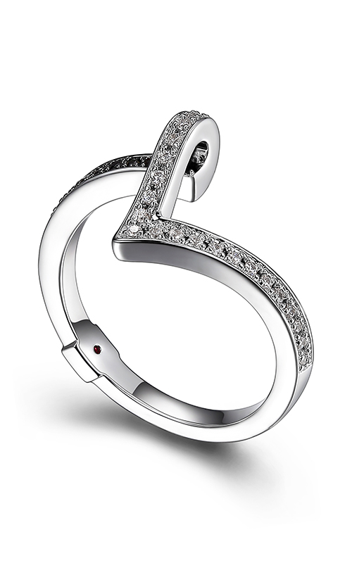 Elle Tuxedo Fashion ring R03908 product image