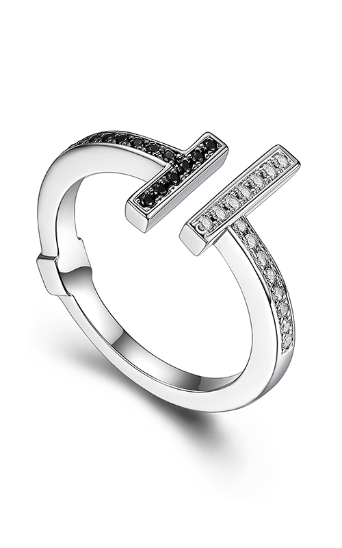 Elle Tuxedo Fashion ring R03919 product image