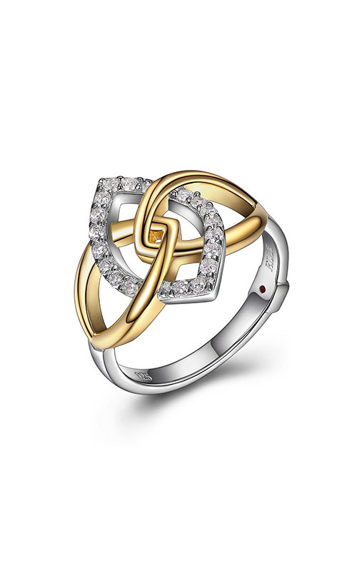 Elle Wave Fashion Ring R10005YWZ7 product image