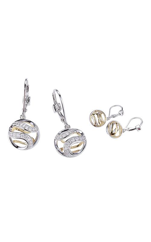 Elle Moon Shadow Earrings E10134YWZ product image