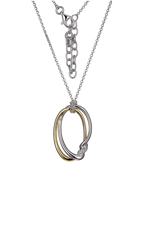 Elle Swirl Necklace N10109YWZ18 product image