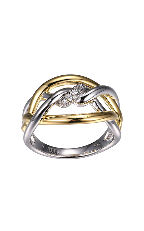 Elle Swirl Fashion ring R10109YWZ6 product image