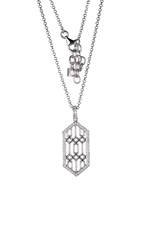 Elle Lattice Necklace N10045WZ17 product image