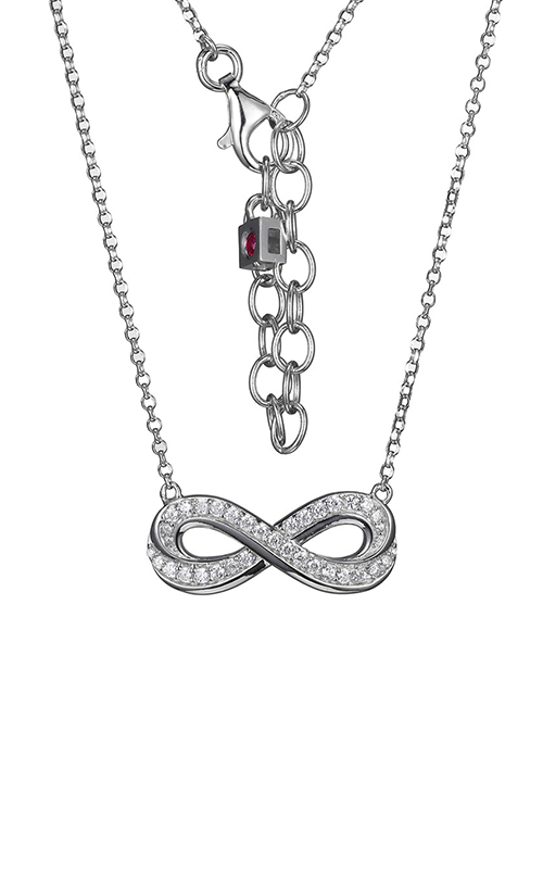 Elle Infinity Necklace N10095WZ16 product image