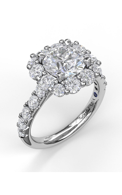 Fana Halo Engagement Ring, S3003 product image