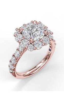 Fana Halo Engagement ring S3003 product image