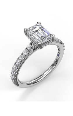 Fana Halo Engagement Ring, S3023 product image