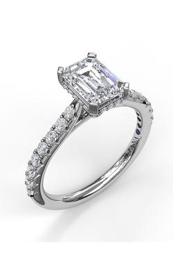 Fana Halo Engagement ring S3023 product image