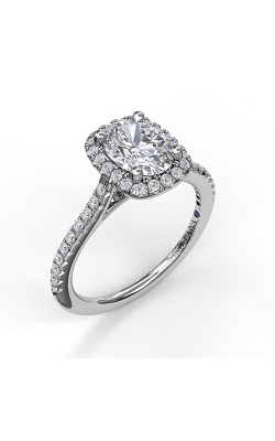 Fana Halo Engagement Ring, S3041 product image