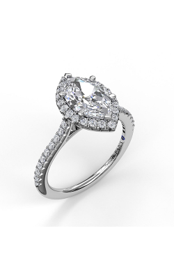 Fana Halo Engagement Ring, S3042 product image