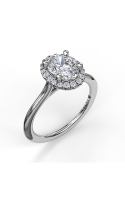Fana Halo Engagement Ring, S3043 product image