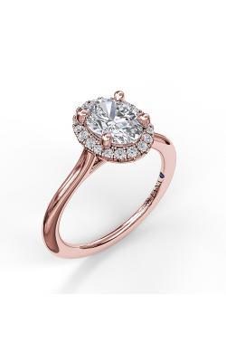Fana Halo Engagement ring S3043 product image