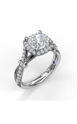 Fana Halo Engagement Ring, S3060 product image