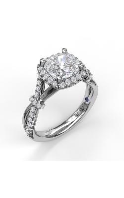 Fana Halo Engagement ring S3060 product image