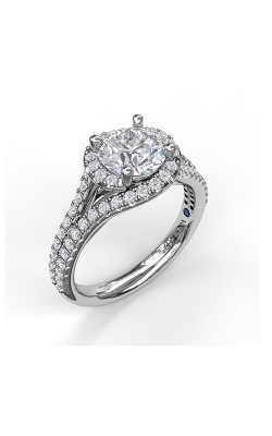 Fana Halo Engagement Ring, S3061 product image