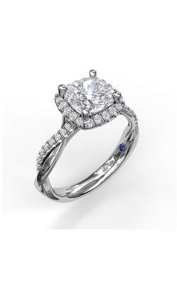 Fana Halo Engagement Ring, S3062 product image