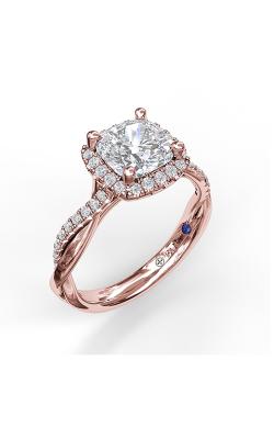 Fana Halo Engagement ring S3062 product image