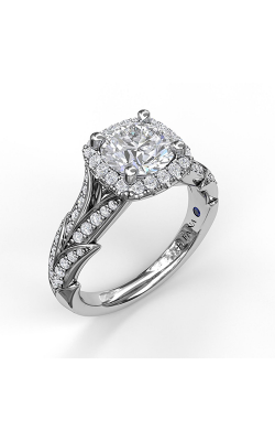 Fana Halo Engagement Ring, S3068 product image