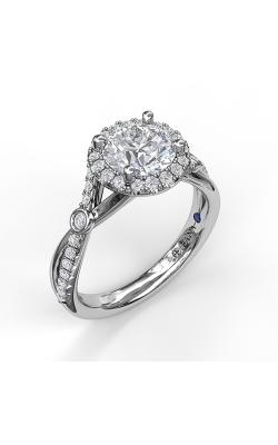 Fana Halo Engagement ring S3077 product image