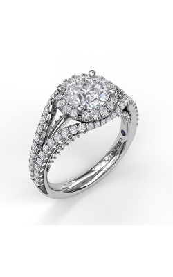 Fana Halo Engagement Ring, S3090 product image