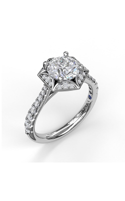 Fana Halo Engagement Ring, S3092 product image