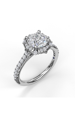 Fana Halo Engagement Ring, S3094 product image