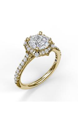 Fana Halo Engagement ring S3094 product image