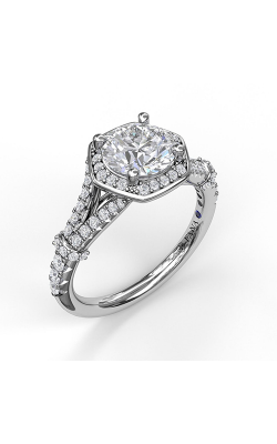 Fana Halo Engagement Ring, S3096 product image