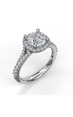 Fana Halo Engagement Ring, S3365 product image