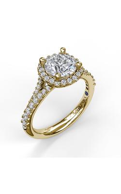 Fana Halo Engagement ring S3365 product image