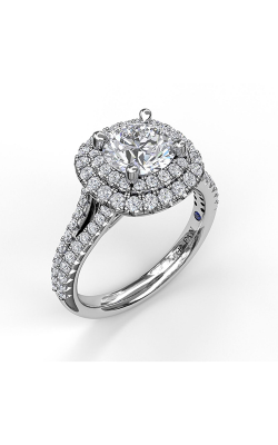 Fana Halo Engagement Ring, S3369 product image
