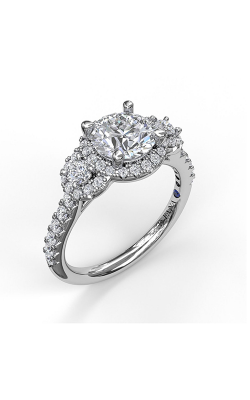 Fana Halo Engagement Ring, S3405 product image