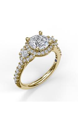 Fana Halo Engagement ring S3405 product image