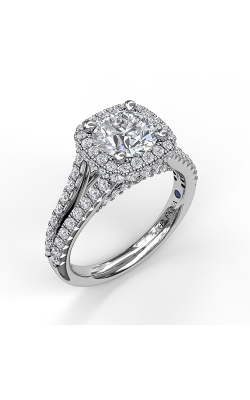 Fana Halo Engagement Ring, S3433 product image