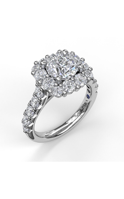 Fana Halo Engagement Ring S3459 product image