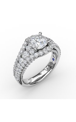 Fana Halo Engagement Ring, S3465 product image