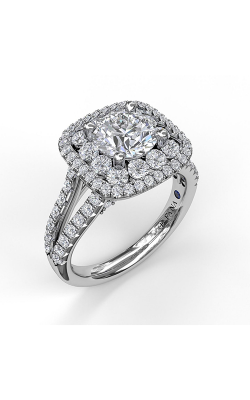 Fana Halo Engagement Ring, S3507 product image