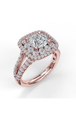 Fana Halo Engagement ring S3507 product image