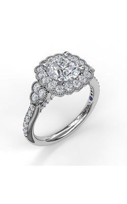 Fana Halo Engagement Ring, S3536 product image