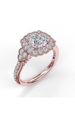 Fana Halo Engagement ring S3536 product image
