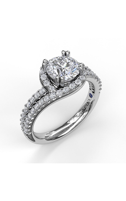 Fana Halo Engagement Ring, S3555 product image