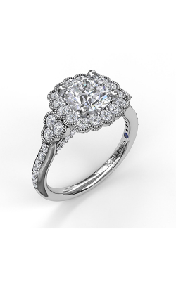 Fana Halo Engagement Ring, S3563 product image