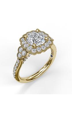 Fana Halo Engagement ring S3563 product image