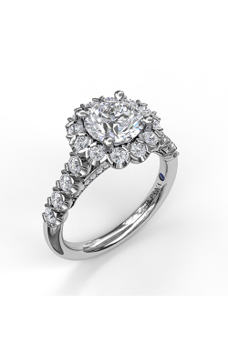 Fana Halo Engagement Ring, S3591 product image
