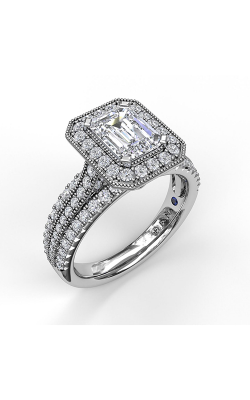 Fana Halo Engagement Ring, S3652 product image