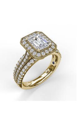 Fana Halo Engagement ring S3652 product image