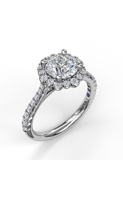 Fana Halo Engagement Ring, S3723 product image