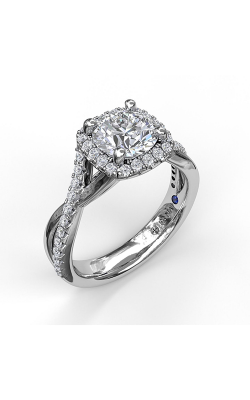 Fana Halo Engagement Ring, S3755 product image