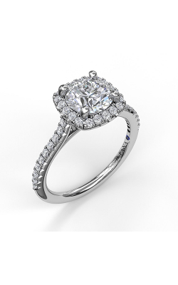 Fana Halo Engagement Ring, S3790 product image